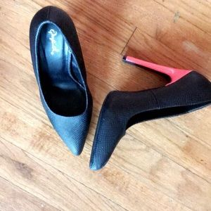Exclusive Blake Patten & Highlight Colored Heels